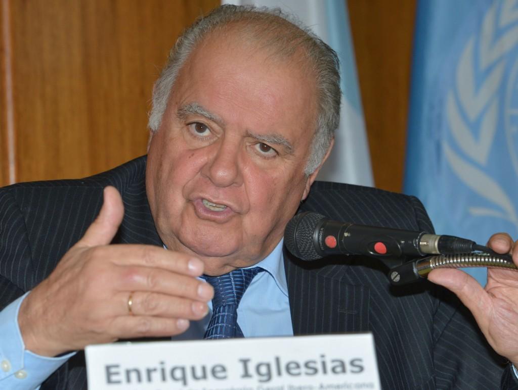 Enrique Valentín Iglesias García - Presidente del Banco Interamericano de Desarrollo.De 1988 a 2005.